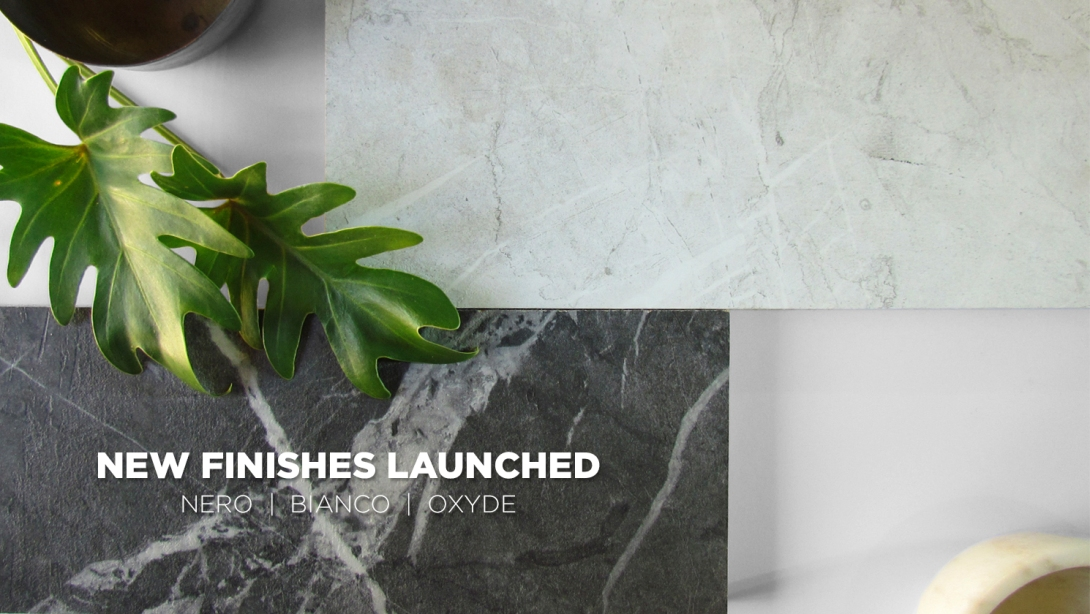 new finishes launched